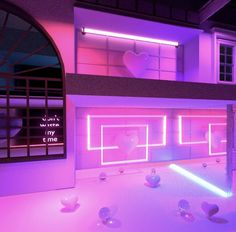 vaporwave room The halls -- a sophisticated interior design that winds like a maze, linking the various room in the Faze