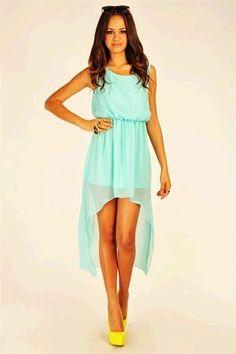 Maxi Chiffon Asymmetrical Sleeveless Dress with Cutout Back