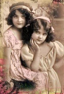 Vintage sisters
