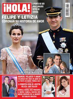 En ¡HOLA!: Los Príncipes de Asturias, Felipe y Letizia, coronan su historia de amor
