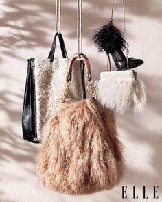 Make note- fur accessories are gonna be huge this fall. I love it, but I'll only stick to faux fur of course!