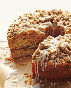 Cinnamon Streusel Coffee Cake ~ Everyone needs a delicious coffee cake recipe in their repertoire