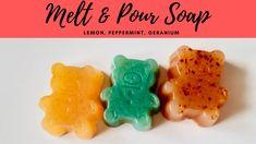 Geranium Essential Oil, Essential Oils, Geraniums, Soap Making, Peppermint, The Creator, Channel, Lemon, Videos