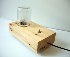 Edison  handmade table lamp by guerrilladesignlab on Etsy, €68.40