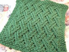 Double Lattice Cloth... ~ smariek knits