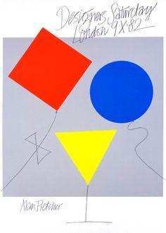 alan fletcher, designers saturday 1982.