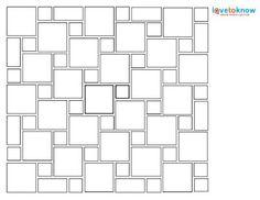 Hopscotch Tile Pattern