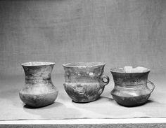 various pottery vessels. Vestfold, Norway (Kulturhistorisk museum)