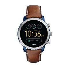 online shopping for Fossil Gen 3 Smartwatch - Q Explorist Luggage Leather from top store. See new offer for Fossil Gen 3 Smartwatch - Q Explorist Luggage Leather Mens Watches Under 200, Fossil Watches For Men, Vintage Watches For Men, Cool Watches, Guy Watches, Cheap Watches, Sport Watches, Ladies Watches, Stylish Watches