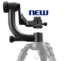 Sirui PH-20 Carbon Fiber Gimbal Head. Supports up to 44 lbs. and weighs only 2.4 lbs.