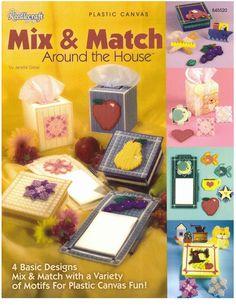 Mix & Match Around The House Pg 1/34