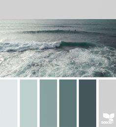 Color Sea | design seeds | Bloglovin'