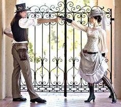 Steampunk: un matrimonio a vapore e ingranaggi
