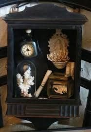 cabinet of curiosities Diorama, Cabinet Of Curiosities, Found Object Art, Assemblage Art, Victorian Gothic, Macabre, Shadow Box, Vintage Decor, Altered Art