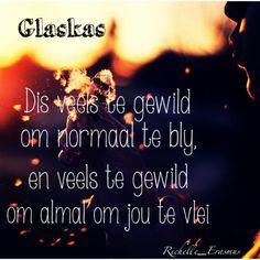 Afrikaanse lirieke - Glaskas