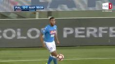 kết quả bóng đá Palermo 3-0 Napoli ( SeriA)