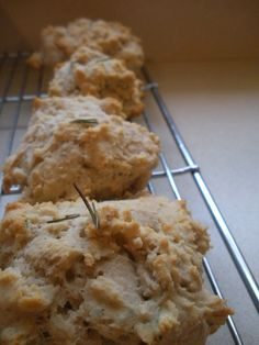 Gluten-free Rosemary Brown Butter Biscuits - autumn makes and does