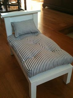MADE: Pieces For Reese: Mattress, Pillow & Sheets Tutorial