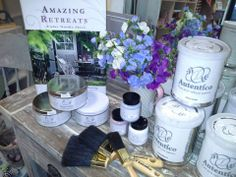 The wonderful world of Autentico Chalk Paint at www.olivetreeboutique.co.uk