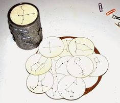 Making a projector with constellations ~ The little life of Ilhan and . - Miriam Andrews Photo Page Science For Kids, Science Activities, Science And Nature, Activities For Kids, Educational Activities, Constellations, Diy For Kids, Crafts For Kids, Daisy Girl