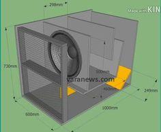 Custom Subwoofer Box, Diy Subwoofer, Subwoofer Box Design, Subwoofer Speaker, Audio Amplifier, Audiophile, 15 Inch Subwoofer Box, Radio Design, Speaker Box Design