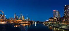 Melbourne y Damasco - Río Yarra a su paso por Melbourne - David Iliff  (2005)