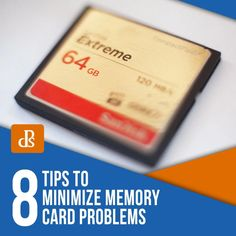 8 Tips to Minimize Memory Card Problems Photography Tutorials, Photography Tips, Types Of Memory, Image Storage, Info Board, Digital Photography School, Writing Process, Card Reader, Best Memories