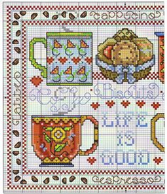 Thrilling Designing Your Own Cross Stitch Embroidery Patterns Ideas. Exhilarating Designing Your Own Cross Stitch Embroidery Patterns Ideas. Cross Stitch Kitchen, Cross Stitch Love, Cross Stitch Alphabet, Cross Stitch Samplers, Cross Stitch Flowers, Counted Cross Stitch Patterns, Cross Stitch Designs, Cross Stitching, Cross Stitch Embroidery