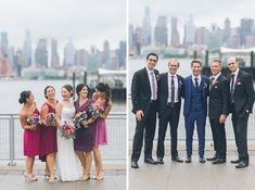 Wedding photos at Chart House wedding in Weehawken. Captured by NJ wedding photographer, Ben Lau.