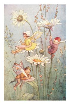Cicely Mary Barker by jana Fairy Dust, Fairy Land, Fairy Tales, Fantasy Kunst, Fantasy Art, Art And Illustration, Book Illustrations, Arte Fashion, Cicely Mary Barker