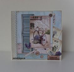 "Studio Light ""la Provence"" Provence, Studio Lighting, Diy Cards, Frozen, Shabby, Scrapbook, Decor, Lavender, Cards Diy"