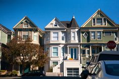 Victorian architecture in San Francisco's Cole Valley