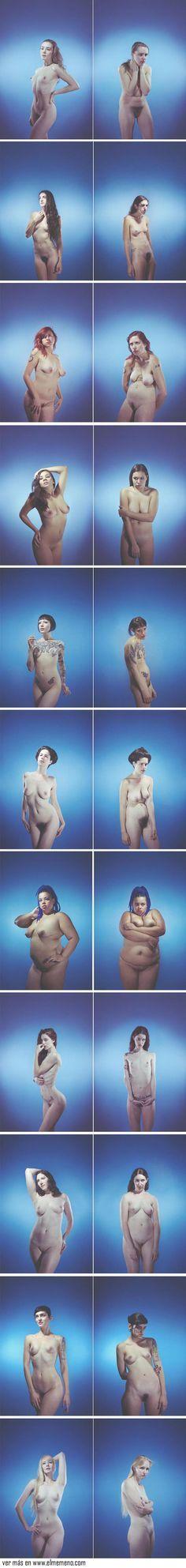 La fotógrafa norteamericana Gracie Hagen fotografió a diferentes personas con diversos arquetipos para demostrar cómo la postura define la expresión corporal.
