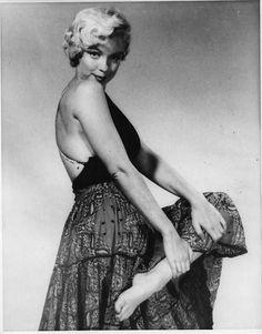 Marilyn by Philippe Halsman, 1954.