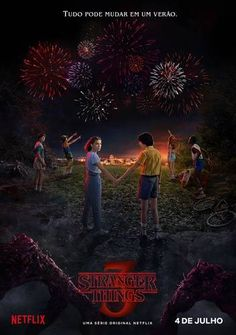 Stranger Things Season 3 Premiere Date and Poster. The official premiere date and TV show poster for Season 3 of Stranger Things have been released by Netflix. Stranger Things will premiere on Netflix on July Stranger Things Netflix, Stranger Things Saison 1, Poster Stranger Things, Stranger Things Tumblr, Watch Stranger Things, Stranger Things Aesthetic, Stranger Things Season One, Robert Forster, Millie Bobby Brown