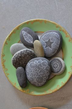Stone painting - tutorial