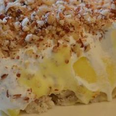 MyRecipes recommends that you make this Lemon Lush recipe from MyRecipes.com user kenzipooch
