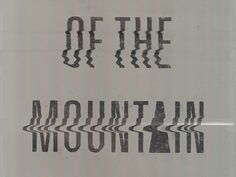 Of the mountain