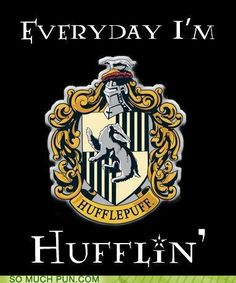 For all my hufflepuffs out there. :)