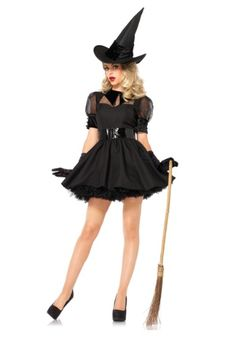 This plus size bewitching beauty costume is an adorable witch costume that will be perfect for your next party!