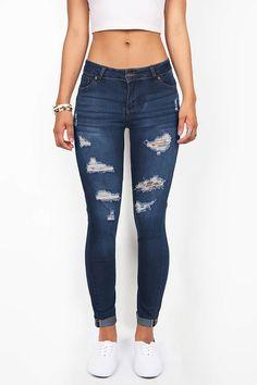 Torn Cruiser Skinny Jeans