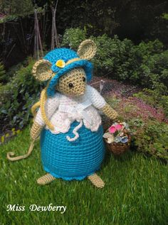 Brambly Hedge Miss Dewberry van dollsandbunnies op Etsy
