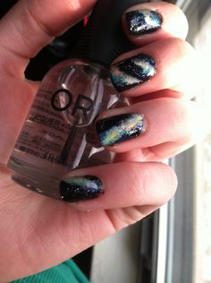 How to Do Galaxy Nail Art