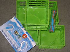 """How to Make a Clothes Organizer (Super Easy!) So the Princess started school last week and so far so good but it has been a battle on the clothing front. I am still a little baffled by this because she wears a """"uniform"""" (khaki or … Weekly Clothes Organizer, Diy Store, Trendy Kids, Trendy Baby, Closet Organization, Organization Ideas, Organizing Tips, School Organization, Cleaning Tips"""