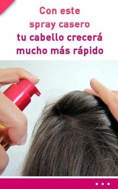 Con este spray casero de aloe vera tu cabello crecerá mucho más rápido