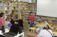 Autorské čtení v knihovně v Odolene vodě, Author´s reading in Odolena Voda
