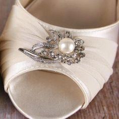 Ivory Wedding Shoes, Ivory Wedges, Wedge Wedding Shoes, Custom Wedding Shoes, Design My Own Wedding Shoes