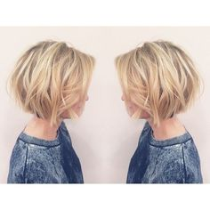 Layered, Short Bob Haircut - Balayage Short Hairstyles for Women