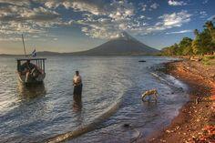 Fishing, Merida, Isla de Ometepe - Nicaragua