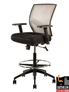 Tall Drafting Chairs are Comfortable and Ergonomic  sc 1 st  Pinterest & Drafting Chairs The VOC-590 is an exceptional drafting stool with ... islam-shia.org